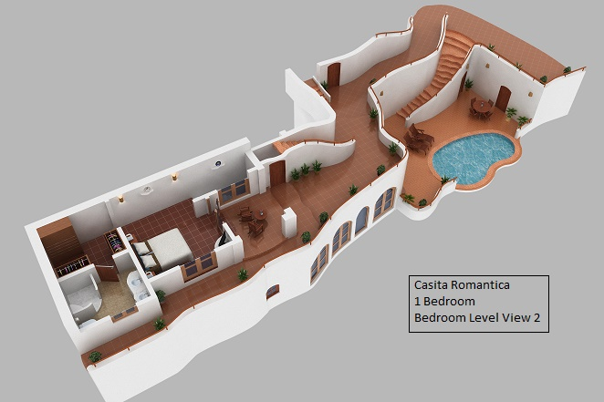 Bedroom Floor Plan Casita Romantica